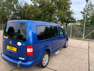 Volkswagen Caddy Maxi Life 2010 LIFE TDI wheelchair & scooter accessible vehicle WAV 26