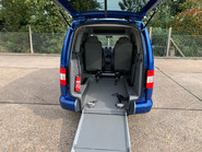 Volkswagen Caddy Maxi Life 2010 LIFE TDI wheelchair & scooter accessible vehicle WAV 6