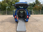 Volkswagen Caddy Maxi Life 2010 LIFE TDI wheelchair & scooter accessible vehicle WAV 7