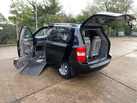 Kia Sedona 2009 LS CRDI wheelchair & scooter accessible vehicle WAV 23