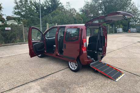 Fiat Qubo 2018 MULTIJET LOUNGE wheelchair accessible vehicle WAV