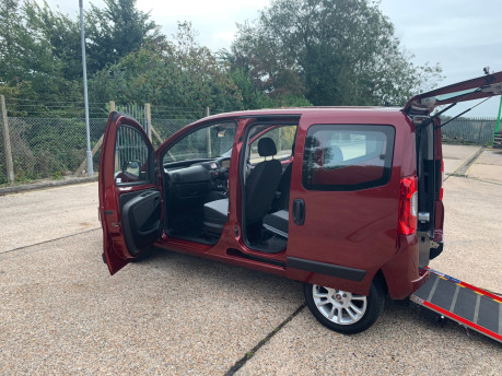 Fiat Qubo 2018 MULTIJET LOUNGE wheelchair accessible vehicle WAV 18