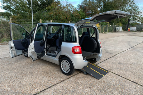 Fiat Multipla 2011 JTD DYNAMIC wheelchair accessible vehicle WAV