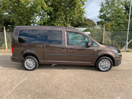 Volkswagen Caddy Maxi 2019 C20 LIFE TDI wheelchair & scooter accessible vehicle WAV 23