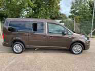 Volkswagen Caddy Maxi 2019 C20 LIFE TDI wheelchair & scooter accessible vehicle WAV 24
