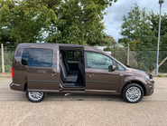 Volkswagen Caddy Maxi 2019 C20 LIFE TDI wheelchair & scooter accessible vehicle WAV 25