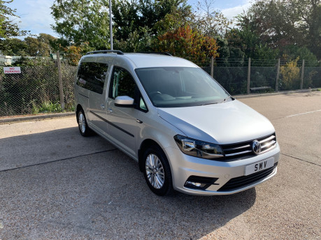 Volkswagen Caddy Maxi 2018 C20 LIFE TSI wheelchair & scooter accessible vehicle WAV 16