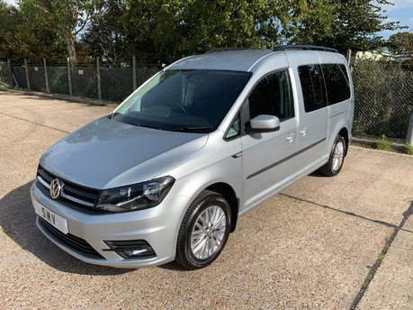Volkswagen Caddy Maxi 2018 C20 LIFE TSI wheelchair & scooter accessible vehicle WAV
