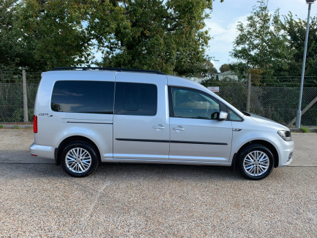 Volkswagen Caddy Maxi 2018 C20 LIFE TSI wheelchair & scooter accessible vehicle WAV 18