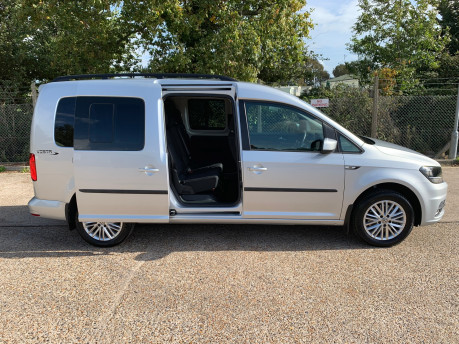 Volkswagen Caddy Maxi 2018 C20 LIFE TSI wheelchair & scooter accessible vehicle WAV 19