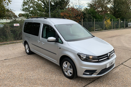 Volkswagen Caddy Maxi Life 2016 C20 LIFE TDI wheelchair & scooter accessible vehicle WAV
