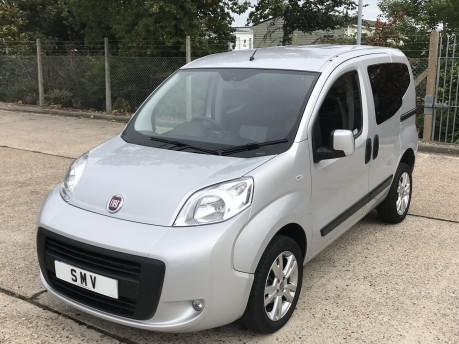 Fiat Qubo 2013 MYLIFE Wheelchair Accessible Vehicle WAV 12