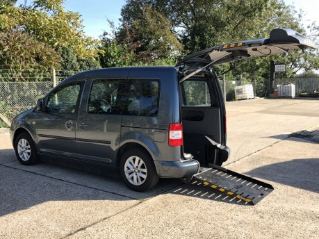 Volkswagen Caddy 2009 LIFE TDI DSG Wheelchair Accessible Vehicle WAV
