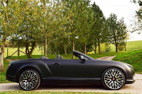 Bentley Continental Gtc 4.0 Auto Technical Data