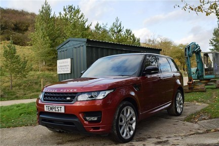 Land Rover Range Rover Sport Autobiography Dynamic Sport (Glass Roof) 2