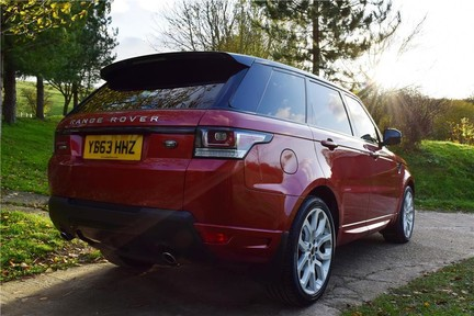 Land Rover Range Rover Sport Autobiography Dynamic Sport (Glass Roof) 12