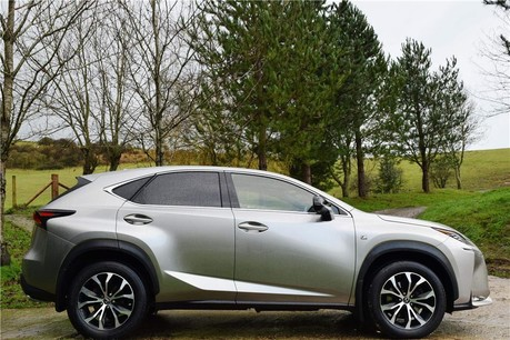 Lexus NX 200T F Sport Auto Technical Data