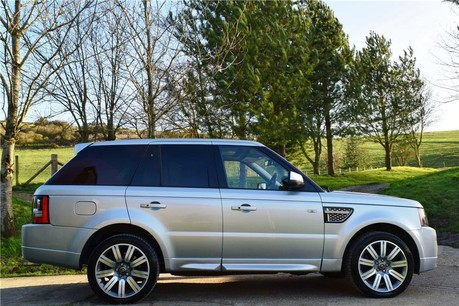 Land Rover Range Rover Sport Autobiography Technical Data