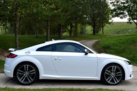Audi TT S Line Tfsi S-A Technical Data