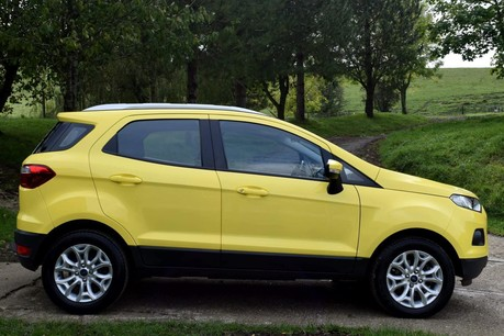 Ford Ecosport Zetec Technical Data