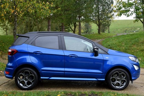 Ford Ecosport St-Line Technical Data