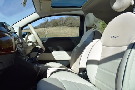 Fiat 500 Riva (Full Leather) Special Car 6