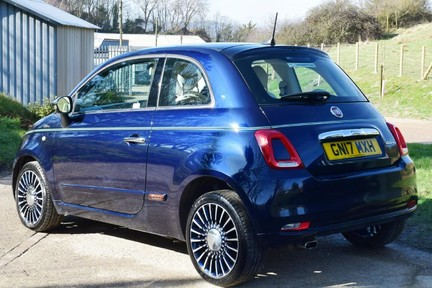 Fiat 500 Riva (Full Leather) Special Car 14