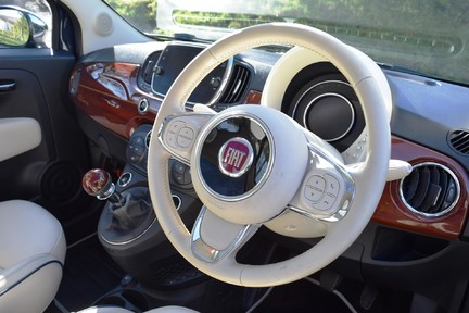 Fiat 500 Riva (Full Leather) Special Car 36