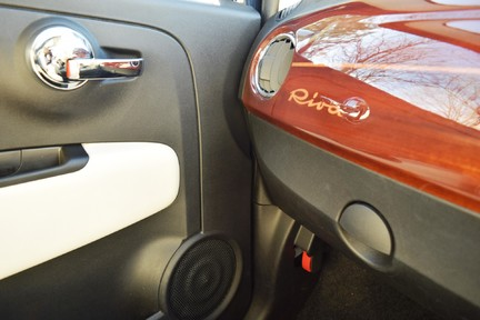 Fiat 500 Riva (Full Leather) Special Car 47