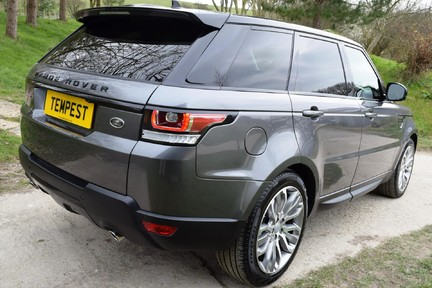 Land Rover Range Rover Sport Hse Dynamic S (Glass Roof) 12