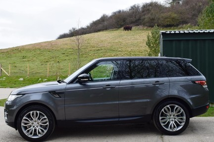 Land Rover Range Rover Sport Hse Dynamic S (Glass Roof) 13