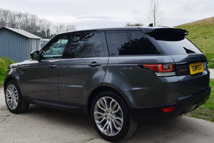 Land Rover Range Rover Sport Hse Dynamic S (Glass Roof) 14