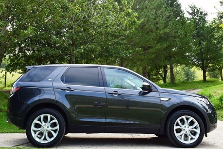 Land Rover Discovery Sport Sport HSE Td4 Automatic Technical Data