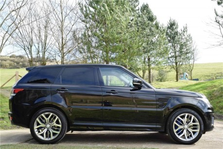Land Rover Range Rover Sport Sport SVR (Face Lift) Technical Data