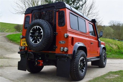 Land Rover Defender 90 Adventure (Only 300 miles) No Vat 12