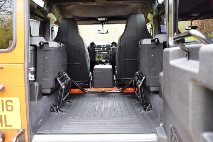 Land Rover Defender 90 Adventure (Only 300 miles) No Vat 18