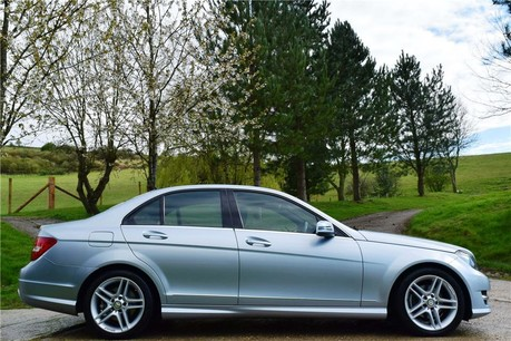 Mercedes-Benz C Class Amg Sport Cdi Blueef Technical Data