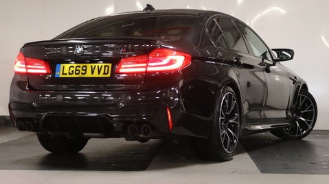 BMW M5 Competition Saloon 8