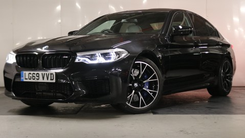 BMW M5 Competition Saloon 4