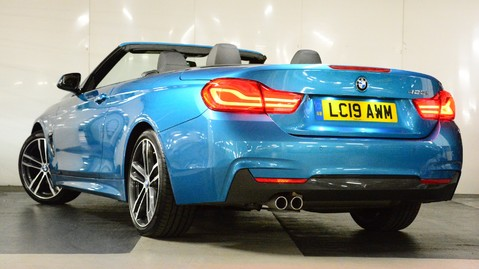 BMW 4 Series 420i M Sport Convertible Auto 5