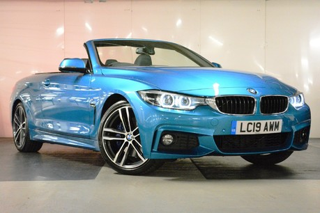 BMW 4 Series 420i M Sport Convertible Auto