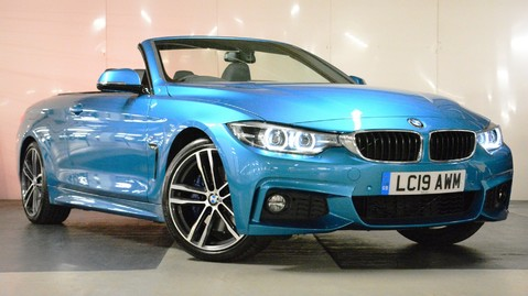 BMW 4 Series 420i M Sport Convertible Auto 1