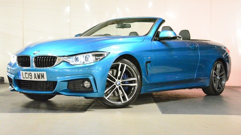 BMW 4 Series 420i M Sport Convertible Auto 3
