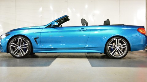 BMW 4 Series 420i M Sport Convertible Auto 8