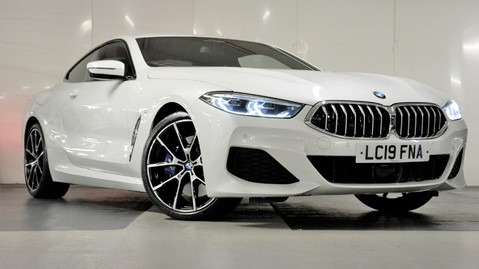 BMW 8 Series 840d xDrive Coupe Auto 1