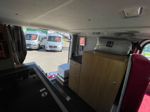 Vauxhall Vivaro 2 Berth camper van with toilet 6
