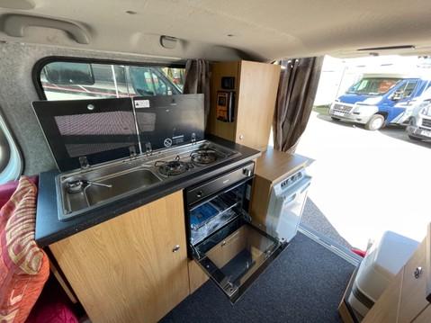 Vauxhall Vivaro 2 Berth camper van with toilet 3