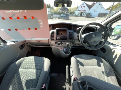 Vauxhall Vivaro 2 Berth camper van with toilet 8
