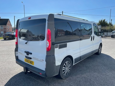 Vauxhall Vivaro 2 Berth camper van with toilet 9