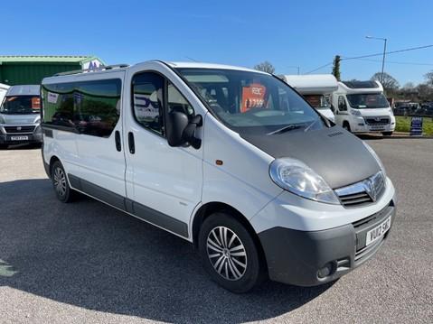 Vauxhall Vivaro 2 Berth camper van with toilet 11
